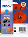 Picture of Epson 17XL Cyan Ink Cartridge