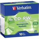 Picture of Verbatim 80min 4X-10X CD-RW Data